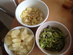 5 fruits et légumes