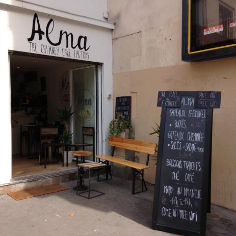 Alma, Chimney Cake, Paris 3, les foodeuses, sur le pouce